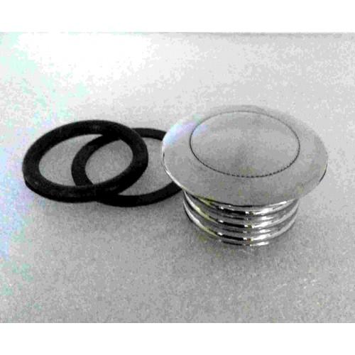 Chrome Pop-up thread in Vented gas cap